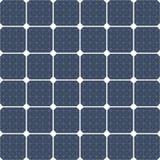 El panel solar como fondo Fotografía de archivo