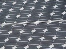 El panel solar del silicio Imagenes de archivo