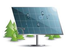 Sistema del panel solar Fotos de archivo libres de regalías