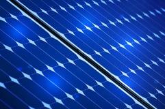 El panel solar fotovoltaico Imagenes de archivo
