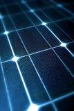 El panel solar moderno Foto de archivo libre de regalías