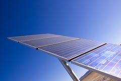 El panel solar para la energía limpia Fotos de archivo libres de regalías