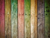 El panel viejo de madera del grunge Fotografía de archivo libre de regalías