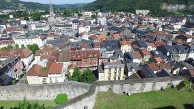 El panorama de Lourdes hizo de castillo metrajes