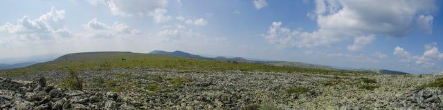 El panorama septentrional de Ural Foto de archivo libre de regalías