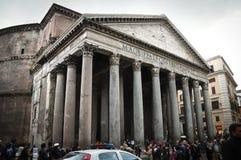 El panteón en Roma Imagenes de archivo