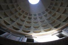 El panteón en Roma Italia imagenes de archivo