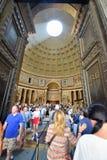 El panteón, Roma Imagenes de archivo