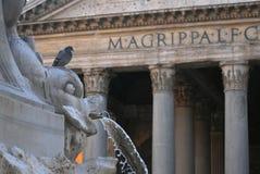 El panteón, Roma Fotos de archivo