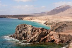 El Papagayo, Lanzarote, Spain Stock Images