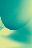 El papel abstracto de la imagen forma azulverde Fotos de archivo libres de regalías