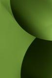 El papel abstracto de la imagen forma verde negro Imagen de archivo libre de regalías