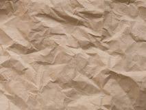El papel arrugado, enciende el fondo texturizado imagen de archivo libre de regalías