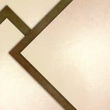 El papel blanco marrón elegante de la textura del fondo con los triángulos de los ángulos del extracto y las formas diagonales ac Fotos de archivo libres de regalías