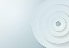 El papel circunda el fondo del vector Fotografía de archivo
