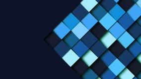 El papel geométrico cuadrado abstracto de la forma cortó el patte del fondo de la capa Fotografía de archivo