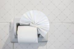 El papel higiénico Fotografía de archivo libre de regalías
