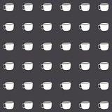 El papel pintado de la taza de Coffe grande para ningunos utiliza Vector eps10 Foto de archivo