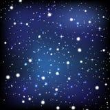 El papel pintado del cielo nocturno Foto de archivo