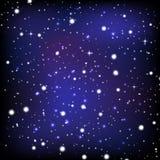 El papel pintado del cielo nocturno Imágenes de archivo libres de regalías