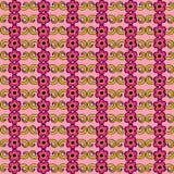 El papel pintado rosado del extracto de la flor grande para ningunos utiliza Vector eps10 ilustración del vector