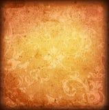 El papel viejo del estilo floral textures el fondo Imagen de archivo