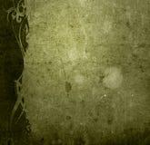 El papel viejo del estilo floral textures el marco Fotos de archivo libres de regalías