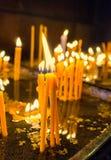 El paquete de velas Fotografía de archivo libre de regalías