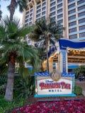 El paraíso Pier Hotel de Disney Foto de archivo
