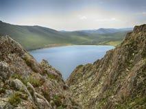 El parador en el lago Baikal Fotografía de archivo libre de regalías