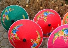 El paraguas hecho a mano Imagen de archivo