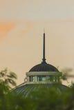 El pararrayos del tejado Imagen de archivo libre de regalías