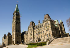 El parlamento #3 de Ottawa Imágenes de archivo libres de regalías