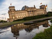 El parlamento alemán Foto de archivo