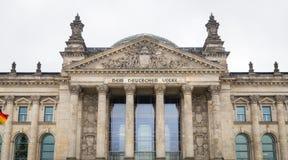 El parlamento alemán, edificio de Reichstag en Berlín, Alemania Fotos de archivo libres de regalías