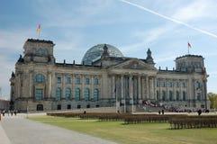 El parlamento alemán en Berlín Imagen de archivo