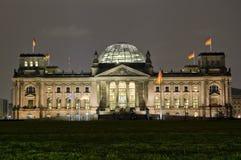 El parlamento alemán, Reichstag, Berlín Imagen de archivo libre de regalías