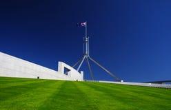 El parlamento australiano en Canberra Foto de archivo libre de regalías