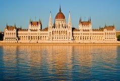El parlamento, Budapest Imagenes de archivo
