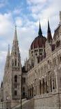 El parlamento, Budapest Foto de archivo libre de regalías