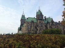 El parlamento canadiense foto de archivo libre de regalías