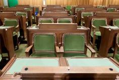 El parlamento canadiense: la Cámara de los Comunes foto de archivo