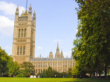 El parlamento contiene Imágenes de archivo libres de regalías