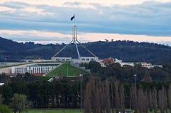 El parlamento contiene Australia Foto de archivo