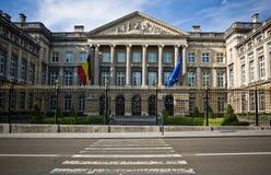 El parlamento contiene Bruselas Bélgica Fotografía de archivo libre de regalías