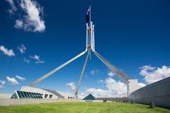 El parlamento de Australia imagen de archivo
