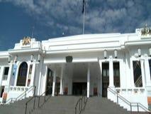 El parlamento de Australia en Canberra metrajes