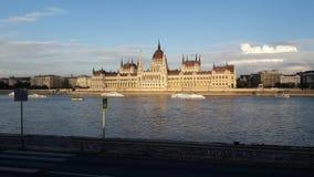 El parlamento de Budapes Fotos de archivo
