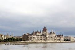 El parlamento de Budapest Imagenes de archivo