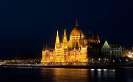 El parlamento de Budapest Imágenes de archivo libres de regalías